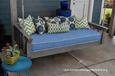 Hanging Daybed Swing Tutorial!
