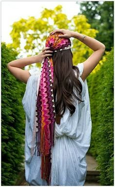 Use light fall scarves as head wraps in spring/summer.