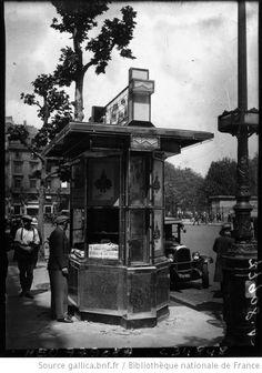 Les nouveaux kiosques à journaux : [photographie de presse] / Agence Meurisse - 1