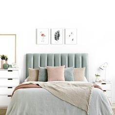 Different Types Bedroom Furniture And How To Make Your Bedroom Beautiful – Home Dcorz Bed Headboard Design, Bedroom Furniture Design, Home Decor Furniture, Small Room Bedroom, Bedroom Colors, Room Decor Bedroom, Gold Bedroom, Elegant Home Decor, My New Room