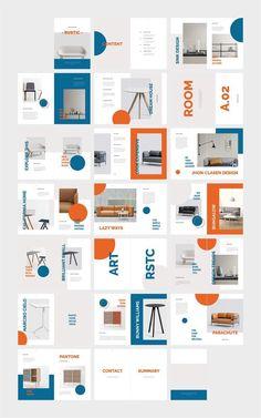 RUSTIC Furniture Magazine von flowless im Kreativmarkt Portfolio Design Layouts, Design Portfolios, Booklet Design, Brochure Design, Brochure Layout, Corporate Brochure, Design Food, Web Design, Editorial Design