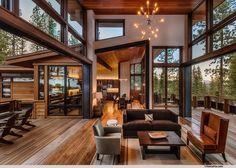 Modern rustic mountain home - Modern Mountain Homes to Take You Away