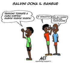 Salvini, donatori del sangue, avis