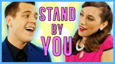 Stand By You Rachel Platten COVER by Rochelle Diamante & Landon Stahmer ...
