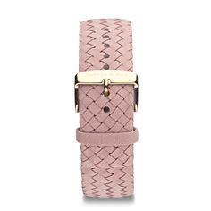 """Leather Strap """"Rose Woven Leather"""" 