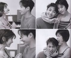 Lee Joon and Jung So Min - Marie claire Korean Actresses, Asian Actors, Korean Actors, Actors & Actresses, Famous Couples, Real Couples, Cute Couples, Korean Celebrity Couples, Korean Celebrities