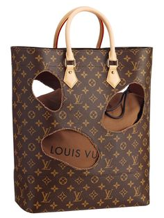 c76d966a0020 Pin for Later  Will You Be Adding a Louis Vuitton Punch Bag to Your  Wishlist  Rei Kawakubo For Louis Vuitton Bag with holes Photo courtesy of Louis  Vuitton