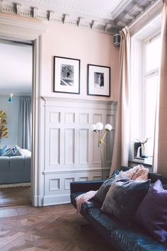 Pantone 2016 Color of the Year: Products We Love Pantone 2016, Blush Walls, Pink Walls, Home Living, Living Spaces, Living Room, Decoration Inspiration, Interior Inspiration, Beautiful Decoration