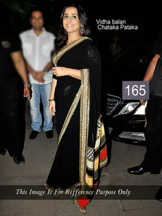 Vidya Balan Chataka Pataka Bollywood Replica Saree by Vendorvilla.com