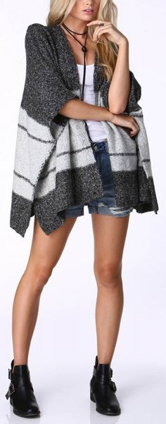 love that poncho for Fall and Winter