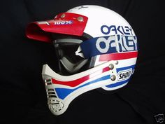 Shoei helmet and Oakley google