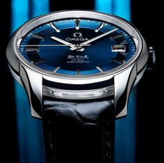 Baselworld 2011 – Omega Hour Vision Blue Watch | Watch Review
