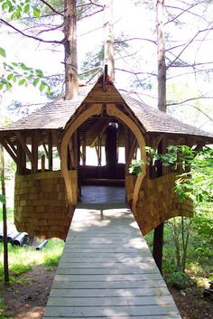 Handicap Accessible Treehouse