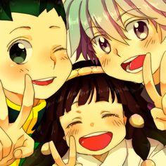 Gon, Alluka and Killua