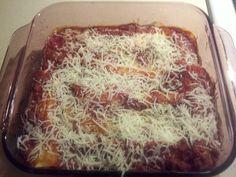 Very easy Manicotti Recipe!