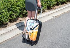 Personaliseer je trolley of reiskoffer van Princess Traveller met eigen foto's en tekst. Maak je herkenbare fotokoffer in slechts enkele klikken!