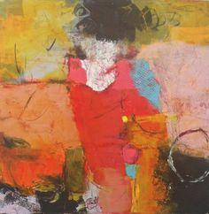 nicola morgan - Paintings - CONVERGENCE,