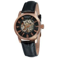 Stuhrling Original Women's 707L.33451 Juliet Automatic Skeleton Black Dial Watch Stuhrling Original. $75.00