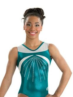 Summer Rain workout leotard: http://www.gkelite.com/Gymnastics-Shopby-BacktoSchoolCatalog/E2864