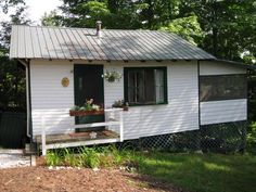 Sleep Away Camps in Maine - Birch Rock Camp - Overnight Summer Camps in Maine - cabin outside