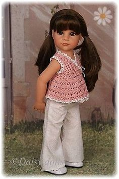 Pink wrap and trousers for Gotz dolls