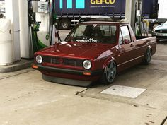 in love with vw: Photo Scirocco Volkswagen, Volkswagen Golf Mk1, Vw Mk1, Vw Rabbit Pickup, Vw Pickup, Vw Cady, Vw Caddy Mk1, Drift Truck, Lowrider Trucks