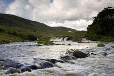Aasleagh Falls, Connemara, County Mayo, Ireland, Europe