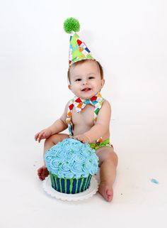 Cake Smash Outfit Boys Blue Argyle First Birthday Clothes Birthday