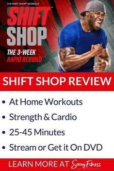 Beachbody's Shift Shop is a 3-week program to lose weight and get lean! In-depth look at the workouts, calendar, and results with before and after pictures.