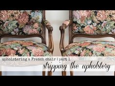 reupholstery series   part 1   stripping the upholstery - Miss Mustard Seed