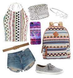 """Aztec day"" by gurveenpanesar ❤ liked on Polyvore featuring Keds, Casetify, M&Co, Accessorize, Dorothy Perkins, rag & bone and Madden Girl"