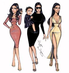 Kim Kardashian West x3 by Hayden Williams  Be Inspirational❥ Mz. Manerz: Being well dressed is a beautiful form of confidence, happiness & politeness