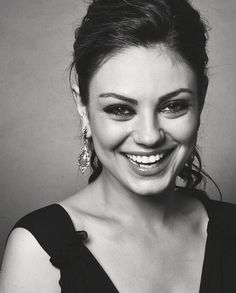 Mila Kunis. Style icon and true beauty! My one and only woman crush. Hilarious, sweet, charismatic. I love this woman. There isn't much else to say.