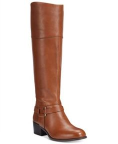 Alfani Women's Biliee Riding Boots, Only at Macy's