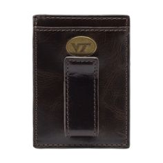 Virginia Tech Hokies Legacy Multicard Front Pocket Wallet by Jack Mason