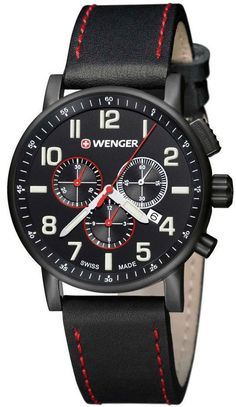 Wenger Watch Attitude Chrono Black #bezel-fixed #bracelet-strap-leather #brand-wenger #case-depth-13-2mm #case-material-black-pvd #case-width-43mm #chronograph-yes #classic #date-yes #delivery-timescale-4-7-days #dial-colour-black #gender-mens #movement-quartz-battery #new-product-yes #official-stockist-for-wenger-watches #packaging-wenger-watch-packaging #style-dress #subcat-attitude #supplier-model-no-01-0343-104 #warranty-wenger-official-3-year-guarantee #water-resistant-100m