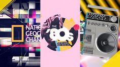 NAT GEO | 80s Idents by Brian Everett. + SVP Creative: Andy Baker