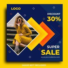 Social Media Banner, Social Media Design, Creative Advertising, Advertising Design, Ad Design, Layout Design, Social Media Marketing Manager, Men's Fashion Brands, Sale Flyer