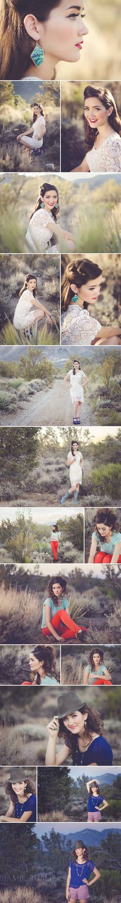 senior girl photography posing ideas {Jamie Rubeis Photography}