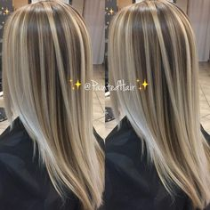 Brown Hair With Blonde Highlights, Blonde Hair Looks, Hair Highlights, Chunky Highlights, Faded Hair Color, Hair Color Pink, Hight Light, Wine Hair, Hair Color Balayage