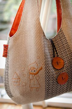 Prachtige versie van de reversible bag