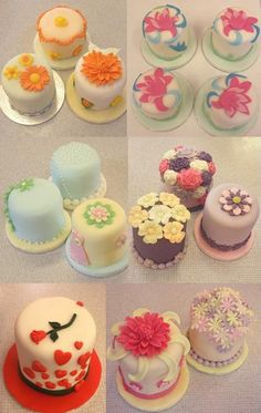 really pretty Cakes | very pretty mini cakes created by our students