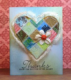 My grid projects: Inspirational cards from Nancy and Patty