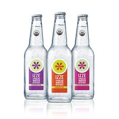 IZZE Organic Flavored Sparkling Water