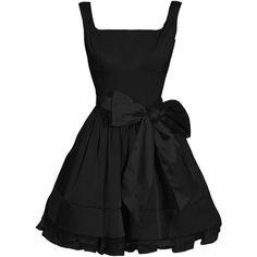 The Unique Little Black Dress::Evening dresses::DRESSES::Party Dresses | Celebrity Styles | Summer Dresses | Evening Dresses found on Polyvore
