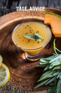 This vodka cocktail features spices, fresh squeezed juice and more for a unique and complex flavor. Cheers! | via frontiercoop.com