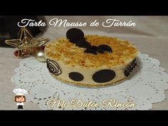 TARTA MOUSSE DE TURRÓN - YouTube