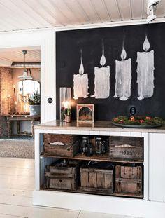 Titta in i det här vackra hemmet – en riktig vinterdröm – Hus & Hem