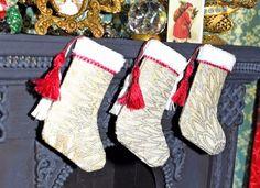 Make a miniature Christmas stocking   Nature's Soul Miniatures