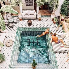 Summers in Morocco What a beautiful place to relax. Would you visit Morocco after seeing this? Travel, eat well, be happy- it's a lifestyle. Photo by @doyoutravel & gypsea_lust this is in @leriadyasmine